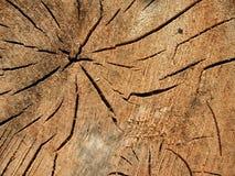 De oude Houten Textuur van de Barsten van de Korrel royalty-vrije stock foto's