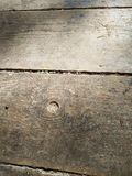 De oude houten textuur van de vloer zijverlichting stock foto's