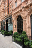 De oude Huizen in de stad van Londen Royalty-vrije Stock Foto