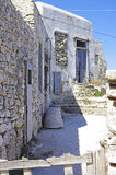 De Oude huizen van Folegandros Royalty-vrije Stock Afbeelding