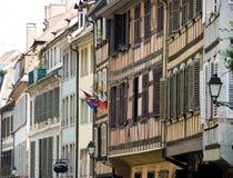 De oude huizen van Straatsburg Stock Afbeelding