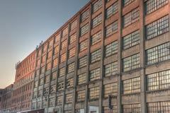 De oude Industriële Bouw royalty-vrije stock foto's