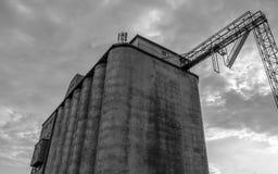 De oude Industriële Bouw Stock Foto