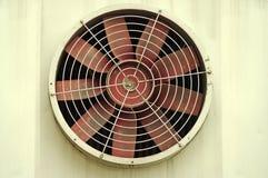 De oude industriële ventilator royalty-vrije stock afbeelding
