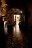 De oude ingang van de schoolraad - Stella Maris - Santos Brazil Stock Fotografie