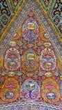 De oude Iraanse Schilderijen van de Stijltegel Royalty-vrije Stock Afbeelding