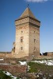 De oude kasteelruïnes Stock Afbeelding