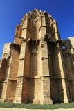 De oude kathedraal in Famagusta, Noordelijk Cyprus Stock Fotografie