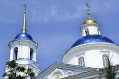 De oude kerk in de Oekraïne Stock Foto