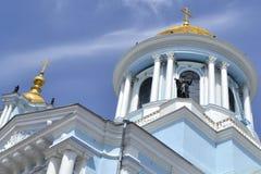 De oude kerk in de Oekraïne Royalty-vrije Stock Afbeelding
