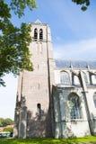 De oude kerk in de stad in Nederland royalty-vrije stock afbeeldingen