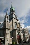 De Oude Kerk van Canada Montreal stock fotografie