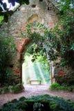 De oude kerk van de wildernis Royalty-vrije Stock Foto