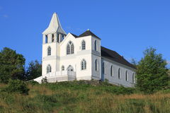 De oude Kerk van het Land Stock Foto