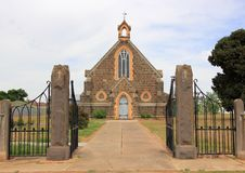 De oude kerk van het land in Australië Royalty-vrije Stock Afbeelding