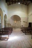 De oude kerk van San Damiano in Italië Stock Foto's