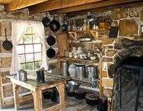 De oude Keuken van het Westen royalty-vrije stock afbeelding