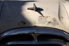 de oude klassieke auto van de jaren '50stijl Stock Afbeelding