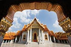 De oude koninklijke marmeren tempel van Boedha royalty-vrije stock foto