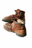 De oude Laarzen van de Wandeling Royalty-vrije Stock Foto's