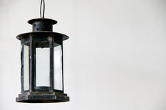 De oude lamp stock afbeelding
