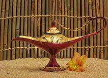 De oude Lamp van de Olie van Afghanistan Royalty-vrije Stock Fotografie