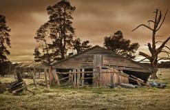 De oude landbouwbedrijfbouw Stock Fotografie