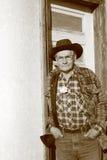 De oude Landbouwer van de Mens Stock Afbeelding