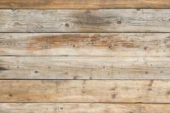 De oude langzaam verdwenen saaie achtergrond van de pijnboom vlakke natuurlijke houten omheining Stock Afbeelding