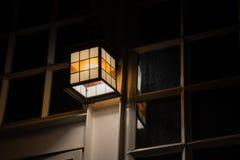 De oude lantaarn Stock Afbeeldingen