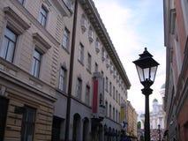 De oude Lantaarn van de Stad Royalty-vrije Stock Afbeelding