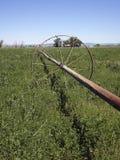 De oude Lijn van de Irrigatie Stock Afbeelding