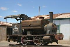 De oude locomotief van de Stoom royalty-vrije stock afbeeldingen