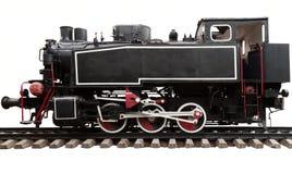 De oude locomotief van de stoommotor Stock Afbeelding