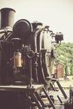 De oude locomotief van de stoommotor in België Royalty-vrije Stock Foto