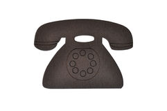 De oude magneet van de telefoonkoelkast Royalty-vrije Stock Foto's