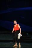 De oude man opera van Jiangxi van monoloogportiers een weeghaak Stock Foto