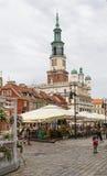 De oude Markt is het centrale vierkant Royalty-vrije Stock Foto