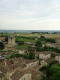 De oude middeleeuwse gebouwen van Saint Emilion, Frankrijk Royalty-vrije Stock Afbeelding
