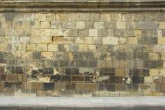 De oude Middeleeuwse Textuur van de Muur Royalty-vrije Stock Fotografie