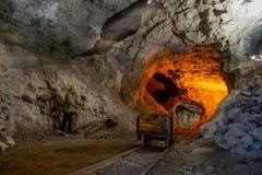 De oude mijnen stock foto