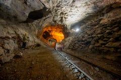 De oude mijnen stock foto's