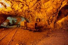 De oude mijnen royalty-vrije stock afbeeldingen