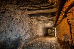 De oude mijnen royalty-vrije stock foto