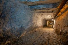 De oude mijnen stock afbeeldingen