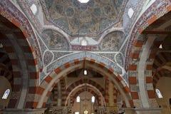 De oude Moskee in Edirne Stock Afbeelding
