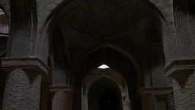 De oude moskee van Isphahan stock footage