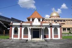 De oude moskee van Masjid Jamek Jamiul Ehsan a K een Masjid Setapak stock foto