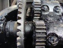 De oude motor stock fotografie