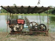 De oude motor Royalty-vrije Stock Foto